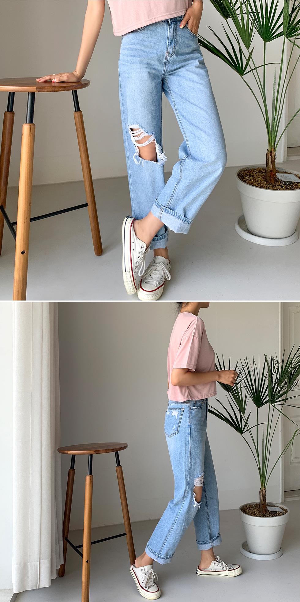 Summer Vintage denim pants