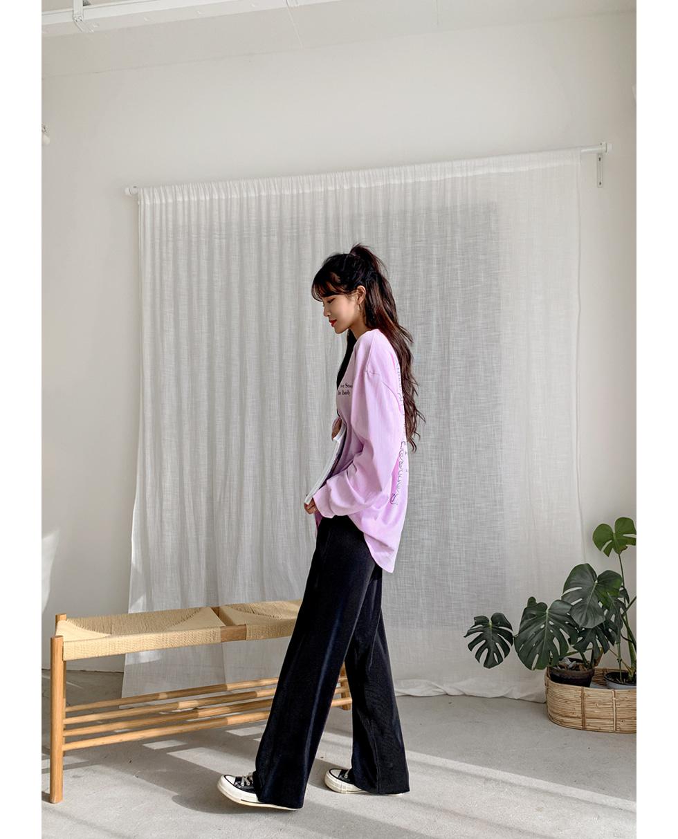 Piano pleated pants