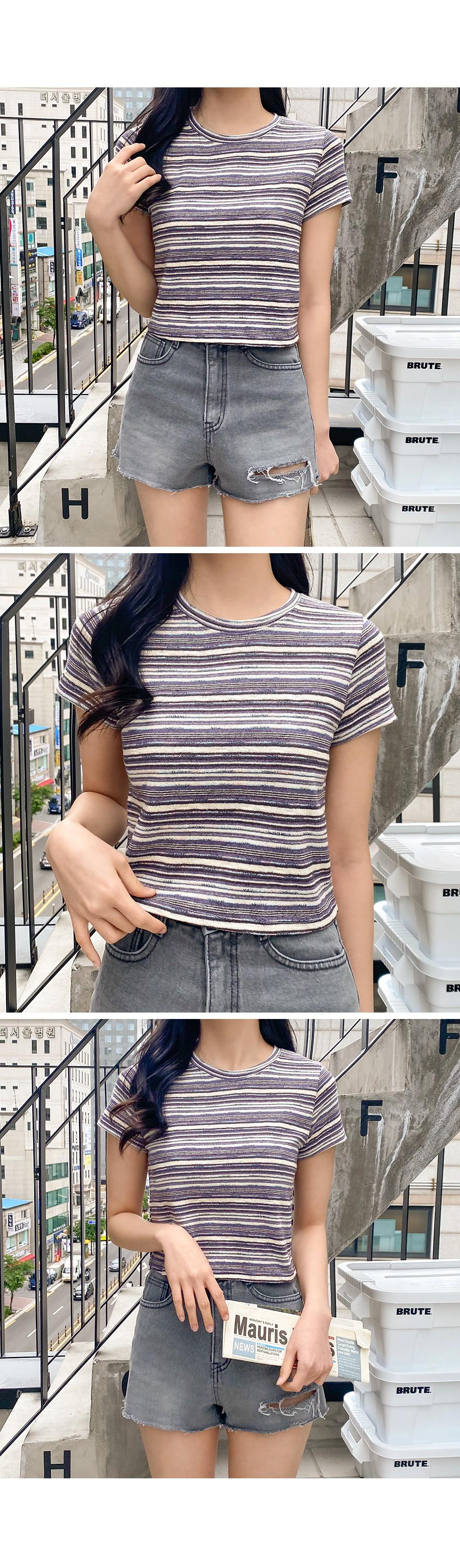 half color short sleeve