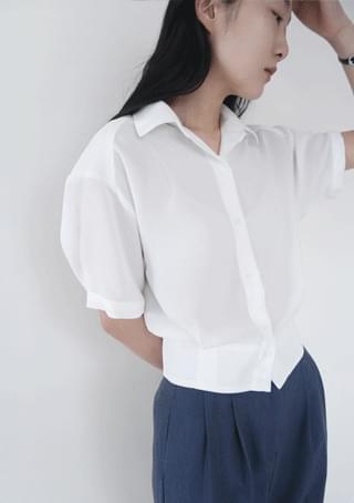 fluid half sleeve blouse