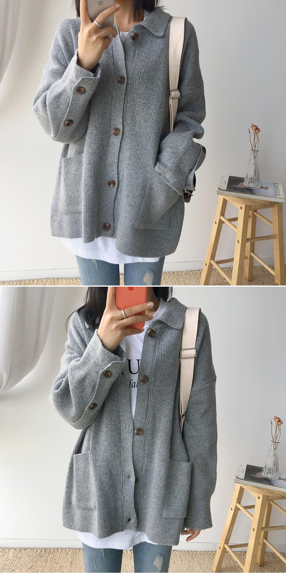 Woolen Root Knit Jacket