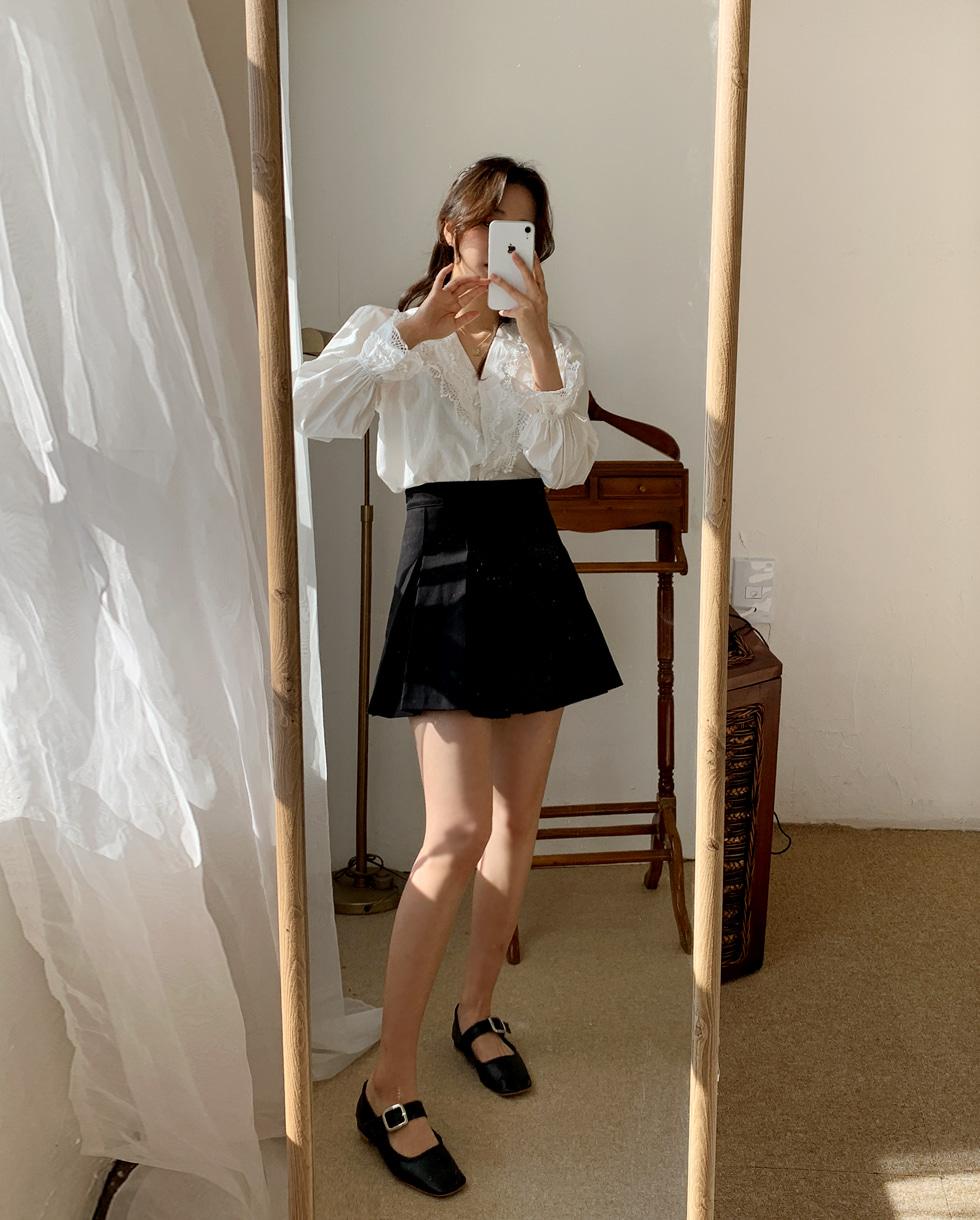 Danish pleated skirt