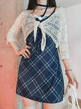 Check Rickle Mini Dress