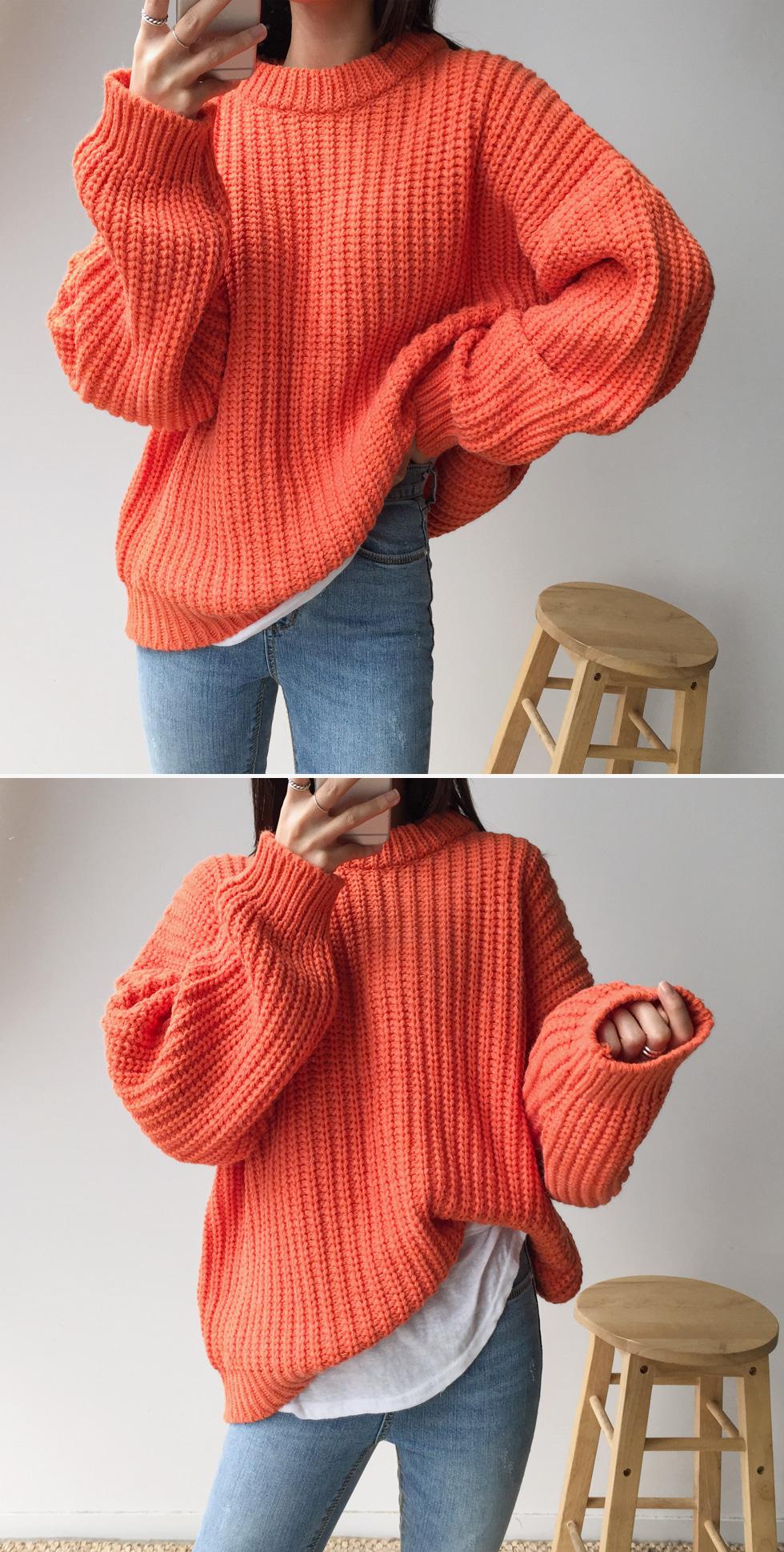 Rev Round Knit