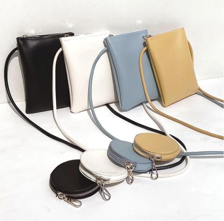 Crossbody Bag and Coin Purse Set