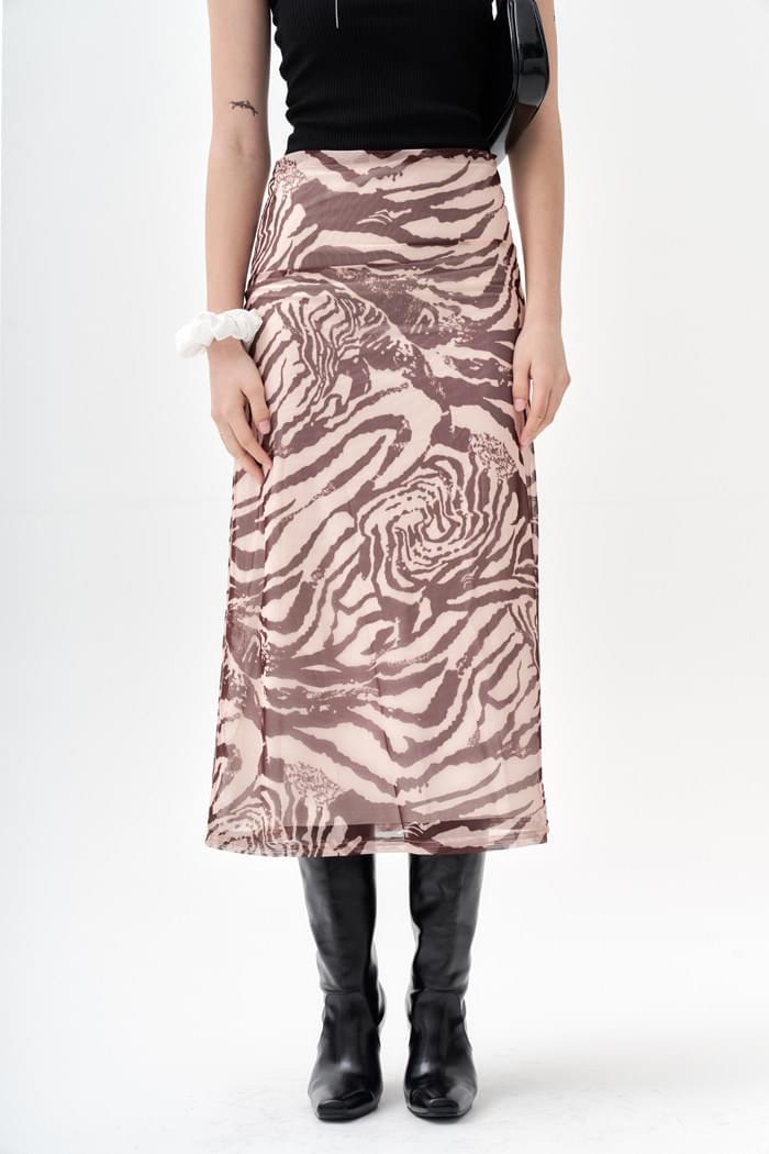 Mural Skirt