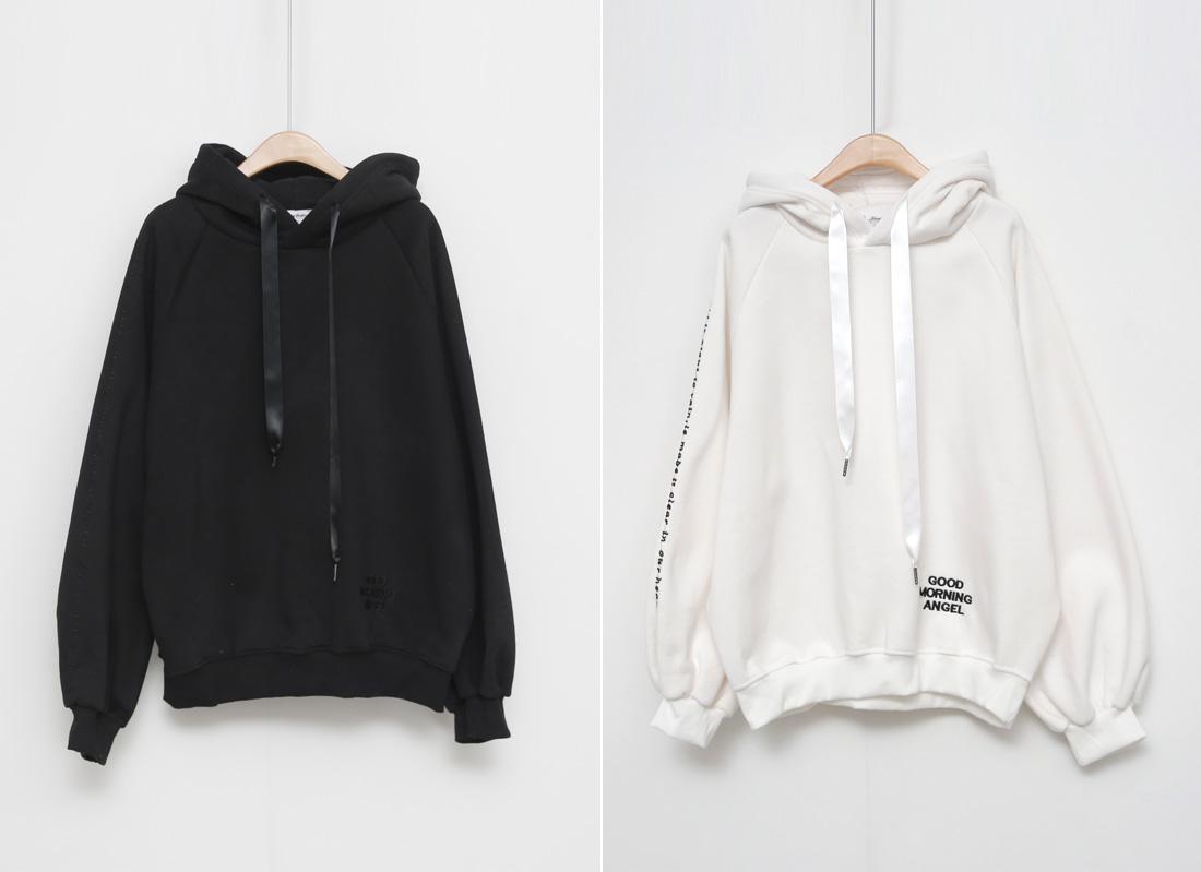 Let's Girityang Fleece-lined hood
