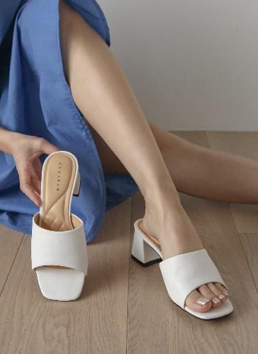 Sande middle heel mules slippers SDLTS2d179