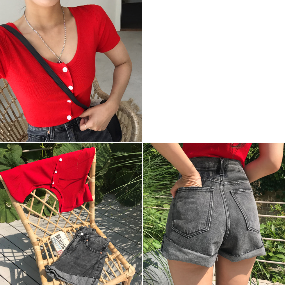 Cherry Round Knitwear