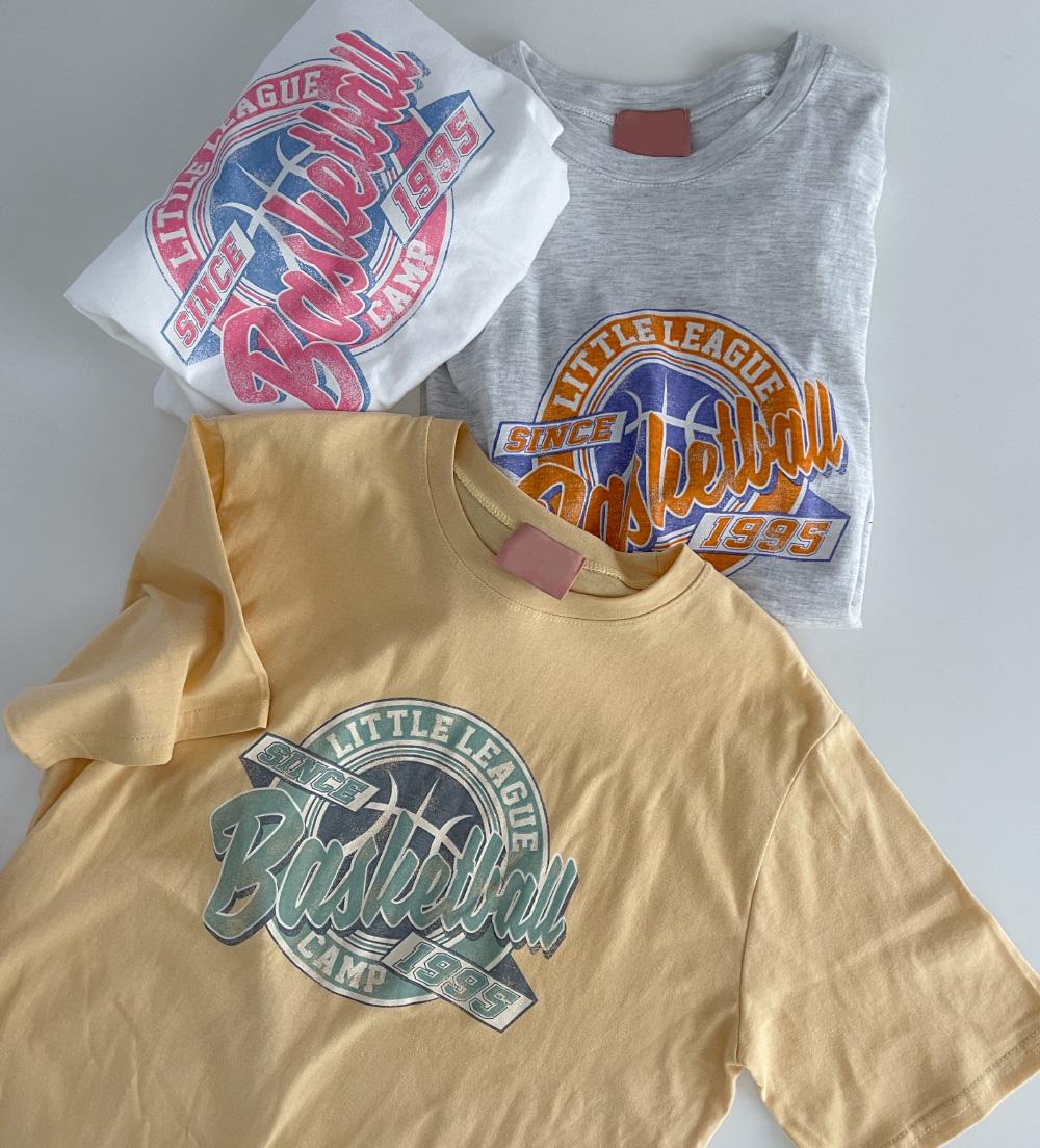 Basketball Loose-fit Printing Tee