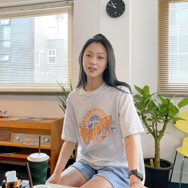 Basketball Loose-fit Printing Tee 短袖上衣