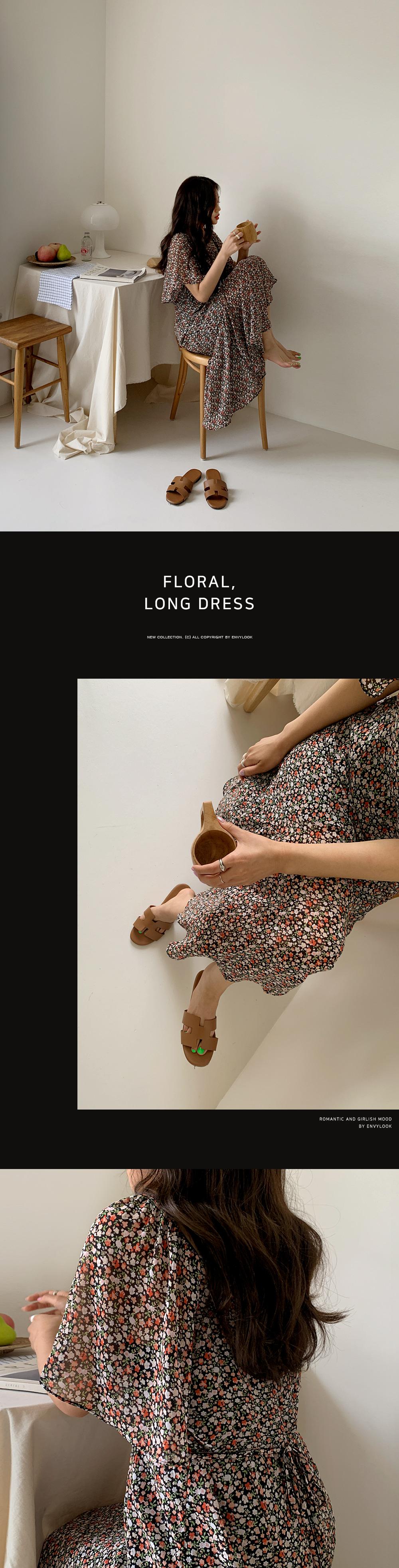 Flower Scent Long Dress