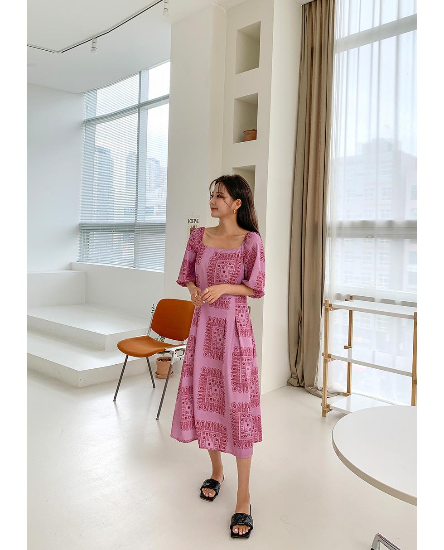 Eddy pattern Dress