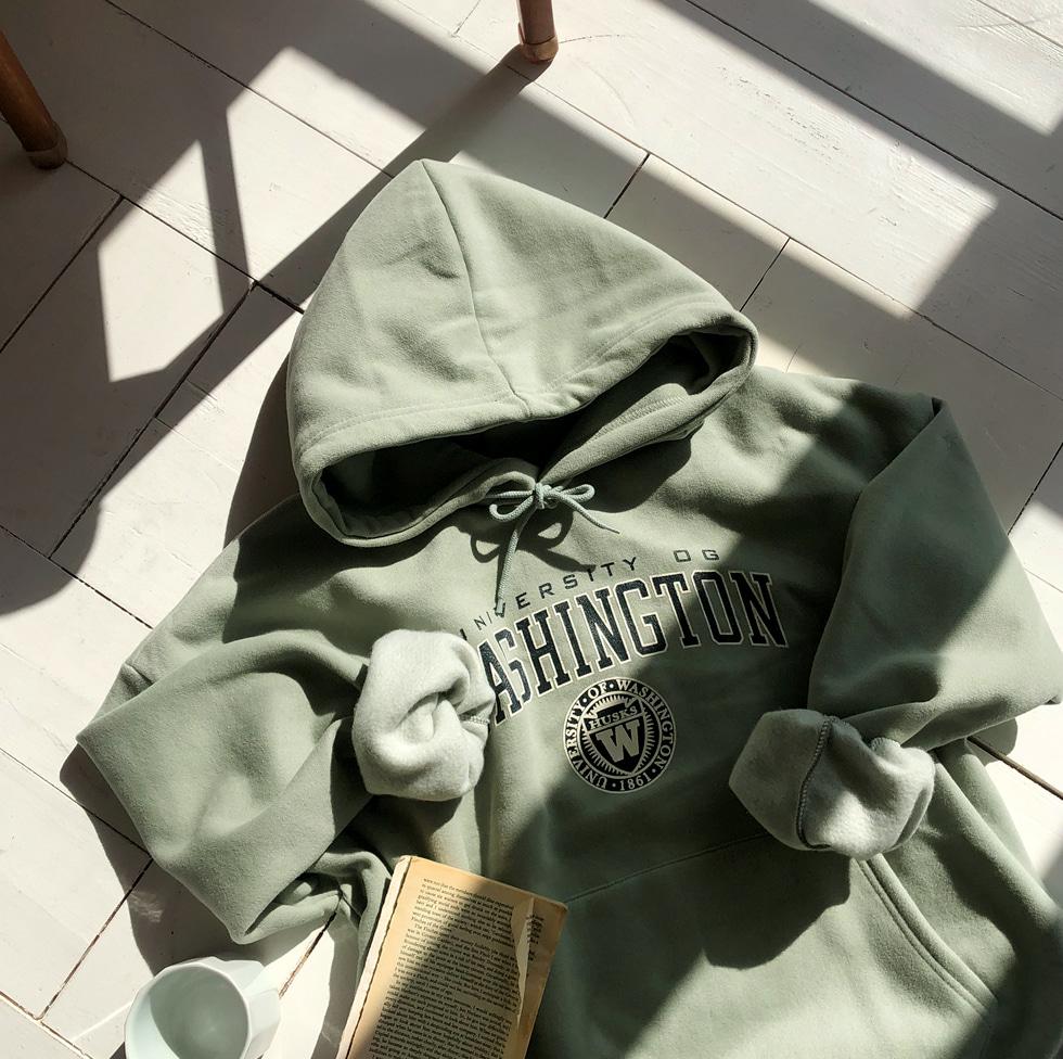 Washington Fleece-lined hood