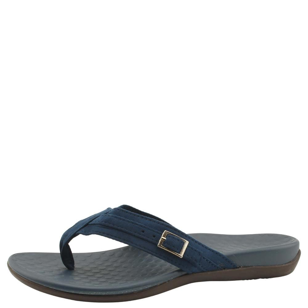 Soft Simple Flip Flop Slippers Navy