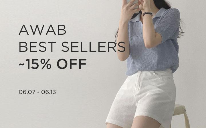 AWAB BEST SELLERS ~15% OFF
