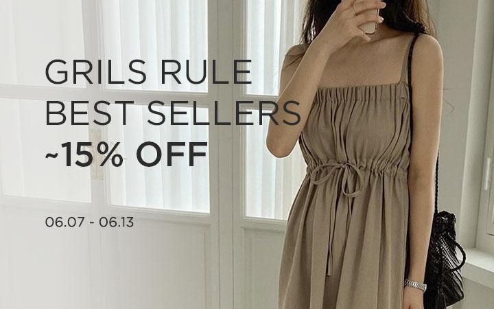GIRLS RULE BEST SELLERS ~15% OFF