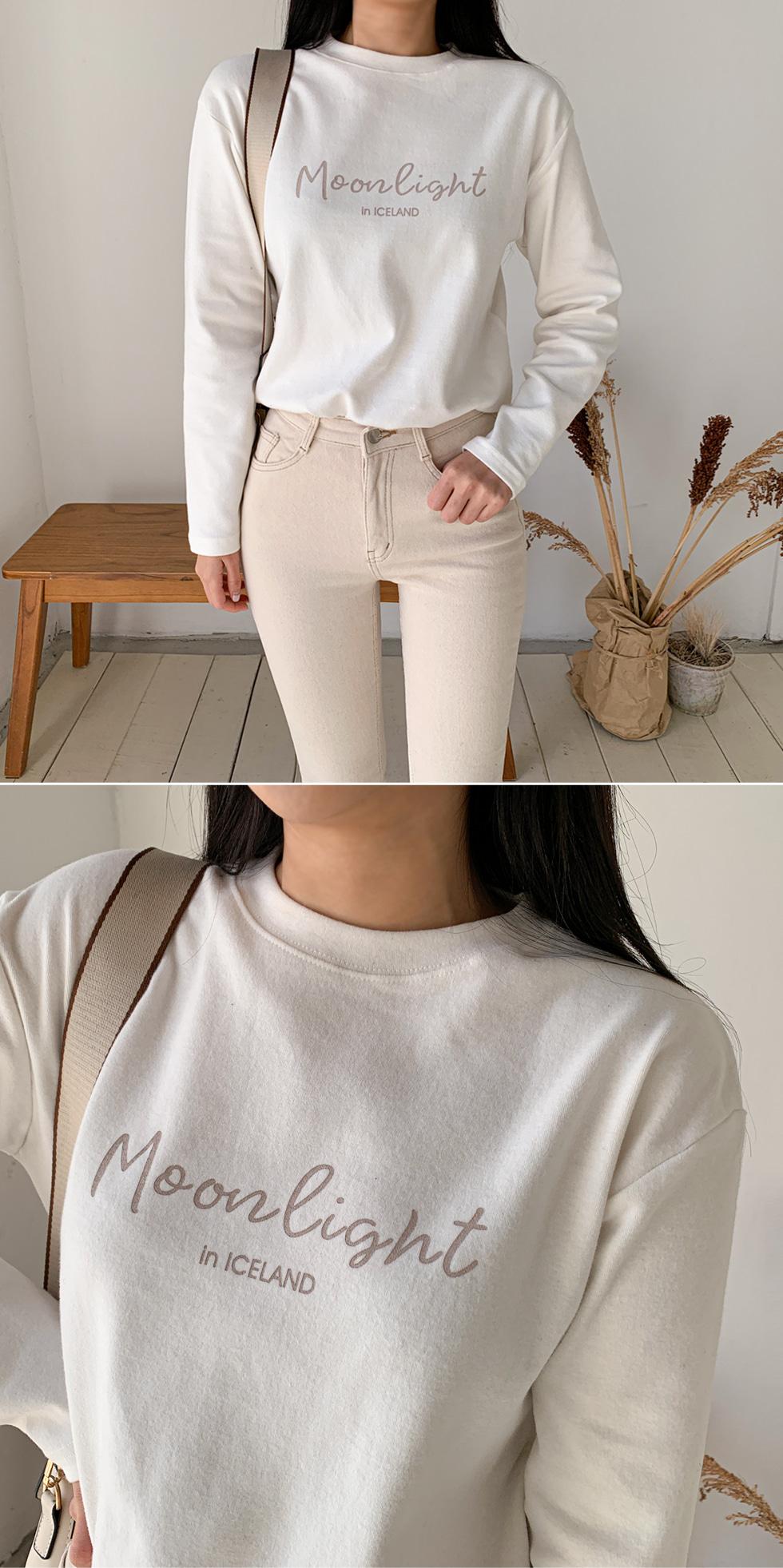 Moonlight Fleece-lined T-shirt