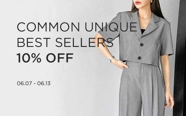 COMMON UNIQUE BEST SELLERS ~15% OFF