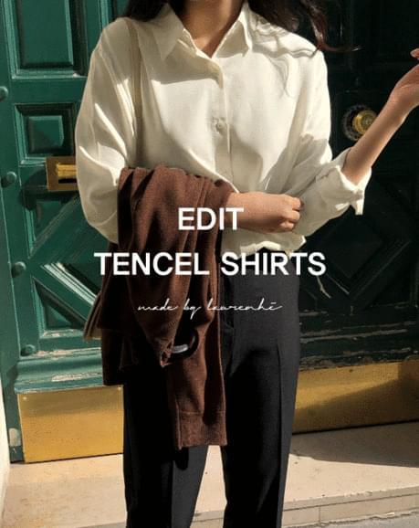 Edit Tencel Shirt - 7 color