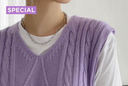 1 Item, 10 Stylings - Gellar Twisted Cropped Knitwear Vest
