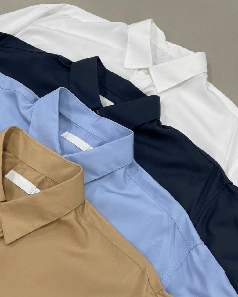 Bamboo Standard Silky Overfit Shirt