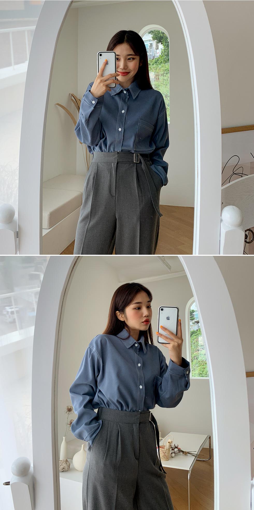 Color Stitch Shirt