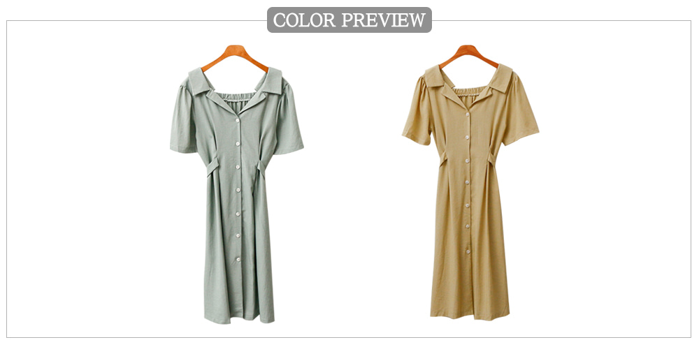 Check Blue Day Dress