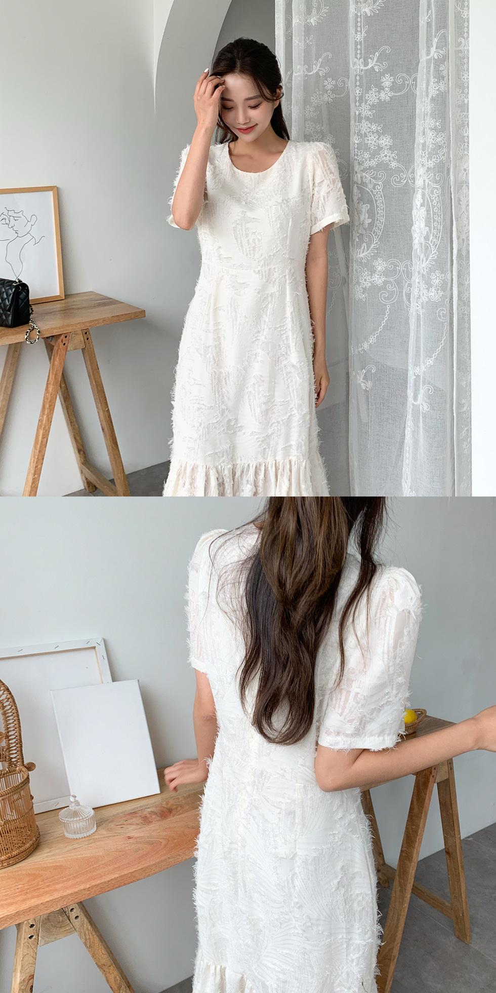 Angel feather dress
