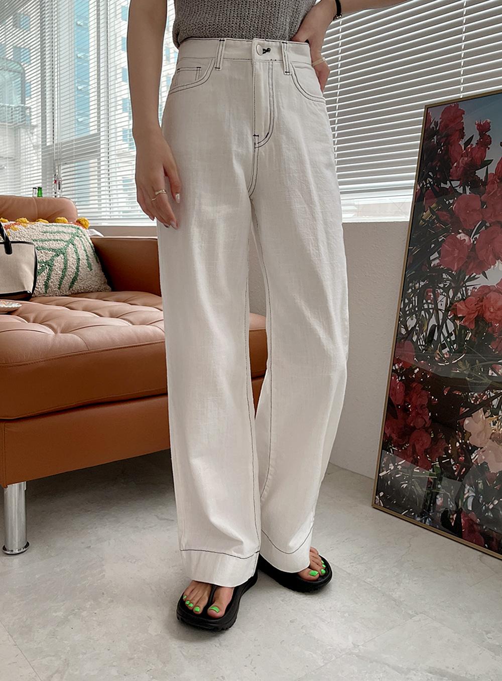 Cozy Stitch Thong Pants