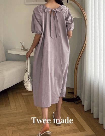 Claire Bag Ribbon Puff Dress