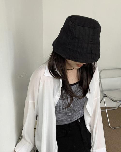 Mino Summer Linen Bungy Bucket Hat