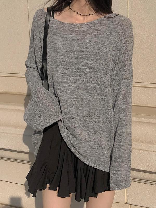 Loose-fit Over Knitwear