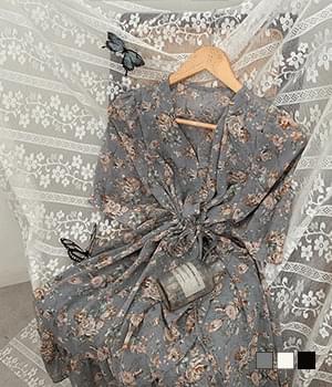 Wanna go on a date ruffle wrap flower mini Dress