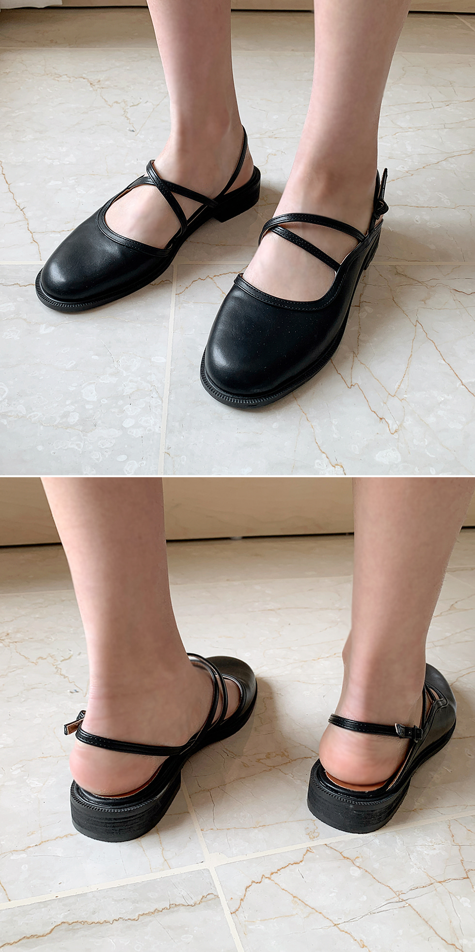 Seed strap sandals
