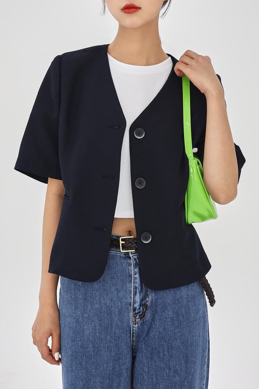Half sleeve classic Jacket