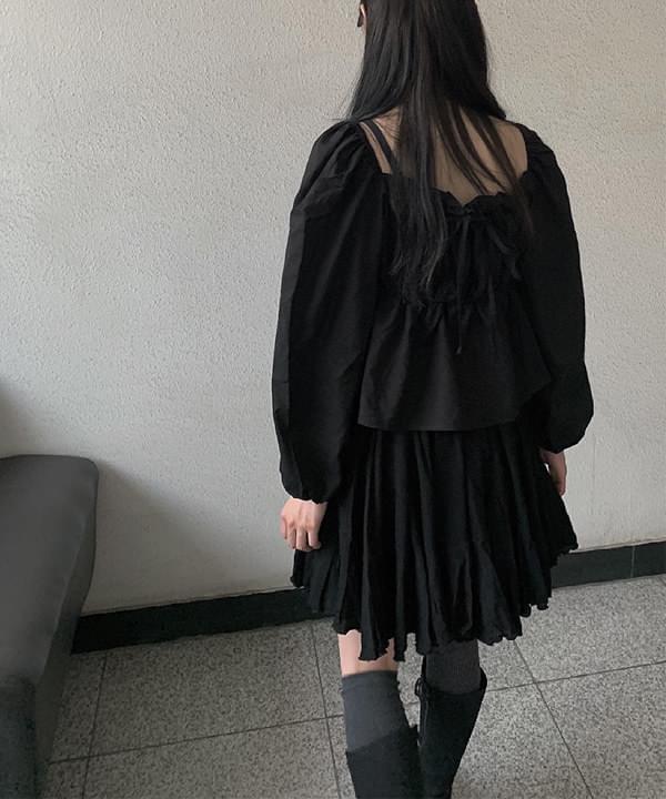 ruffled princess skirt
