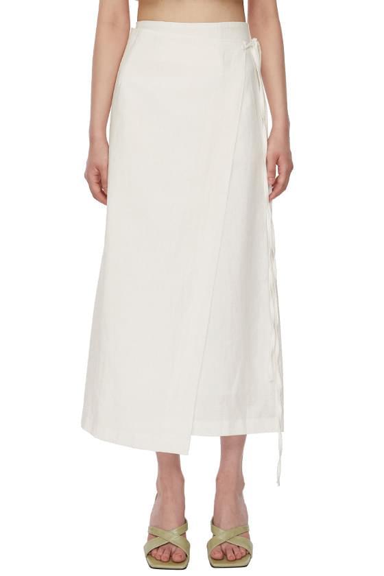 Butter Wrap Long Skirt