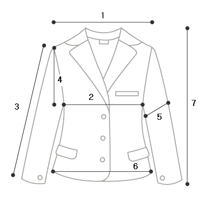 Miles no-collar tweed jacket - 3color