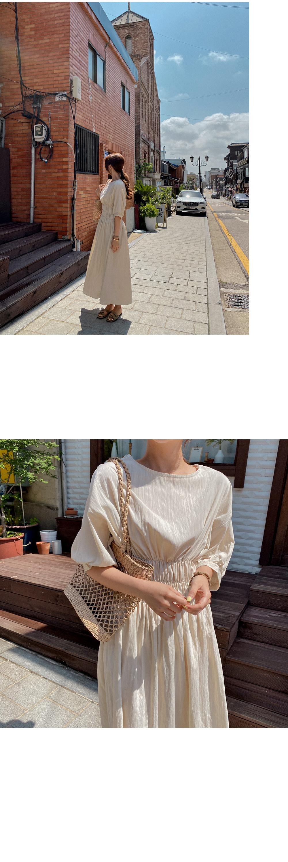 Pale Smoke Dress - 2color