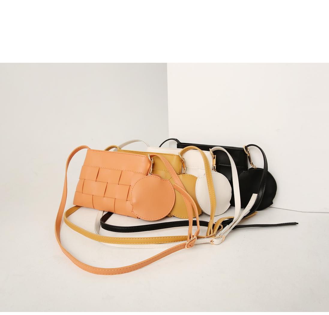 Woven Rectangular Crossbody Bag