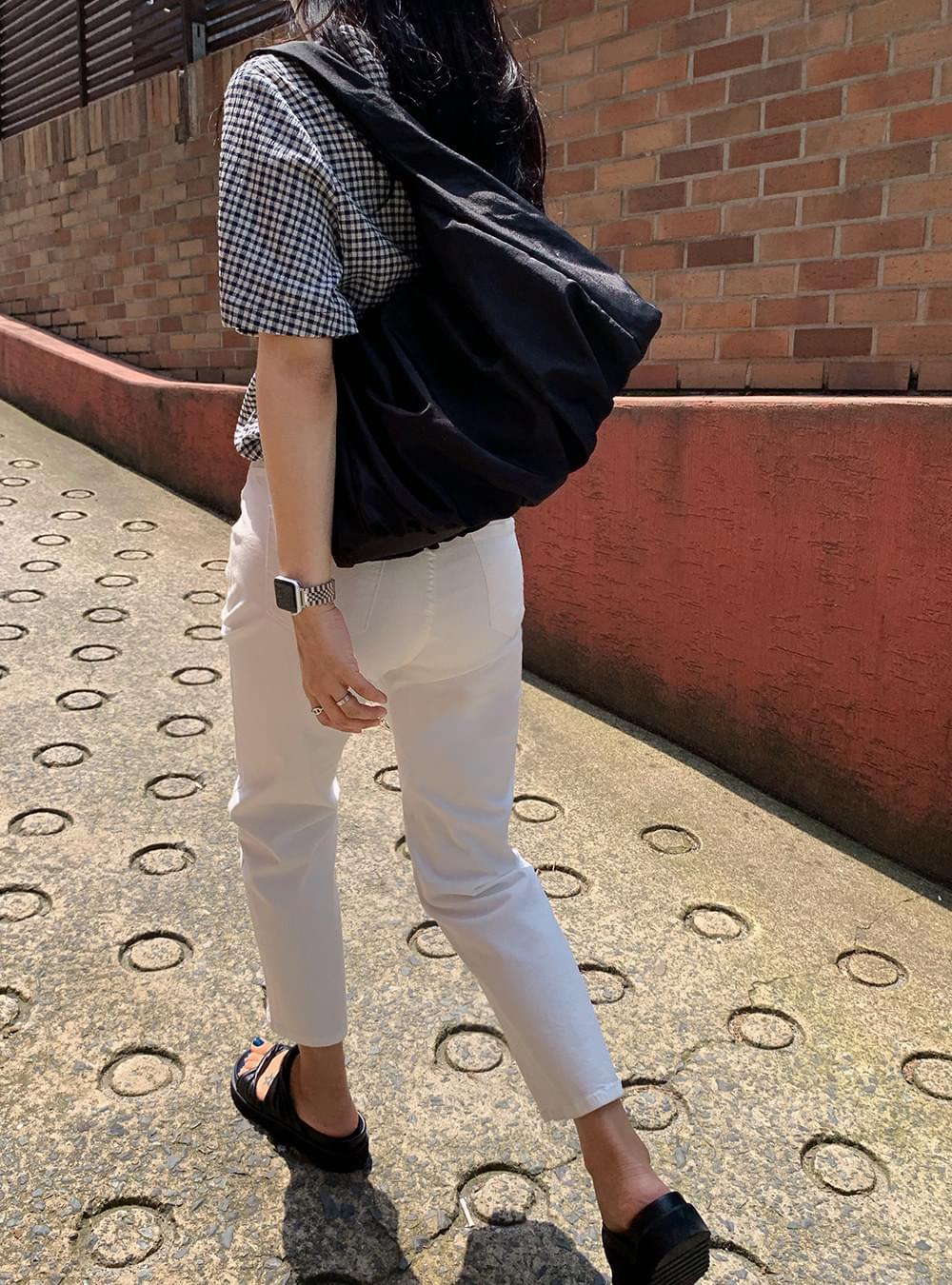 Cause Shirring Nylon Bag