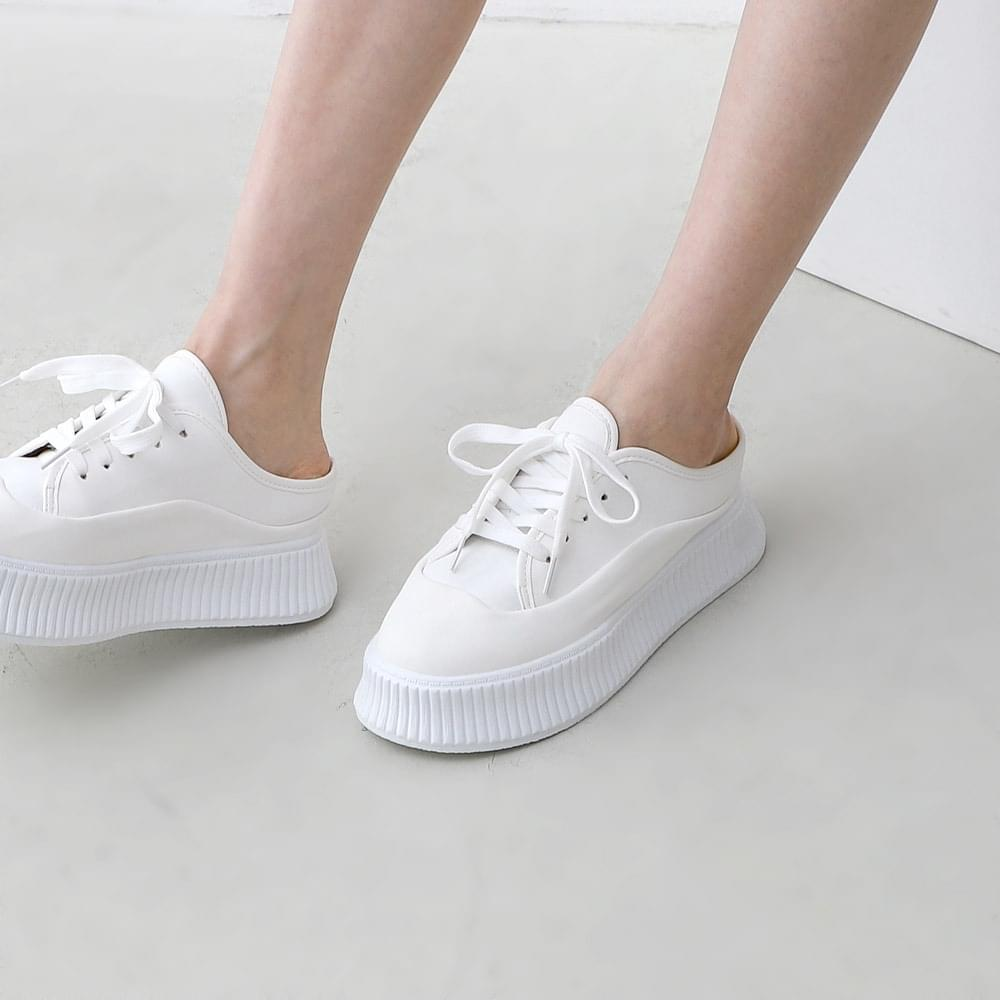 Combi Style Whole Heel Blower Type Tall Sneakers 11002 ♡ 1st Sold Out♡