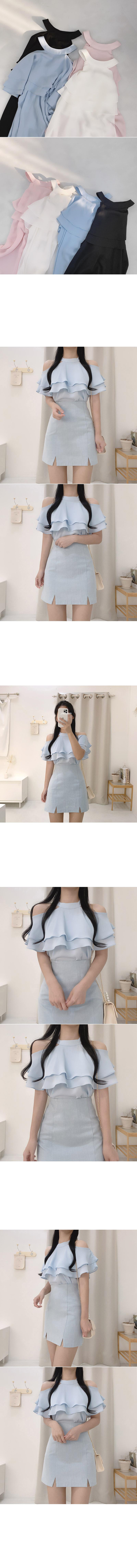 Yar halterneck blouse