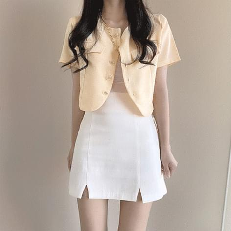 Tomorrow open A-line skirt