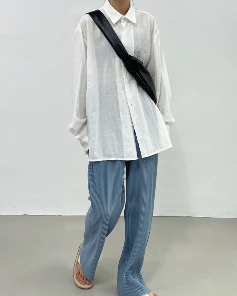 Loen Wrinkle Overfit Shirt