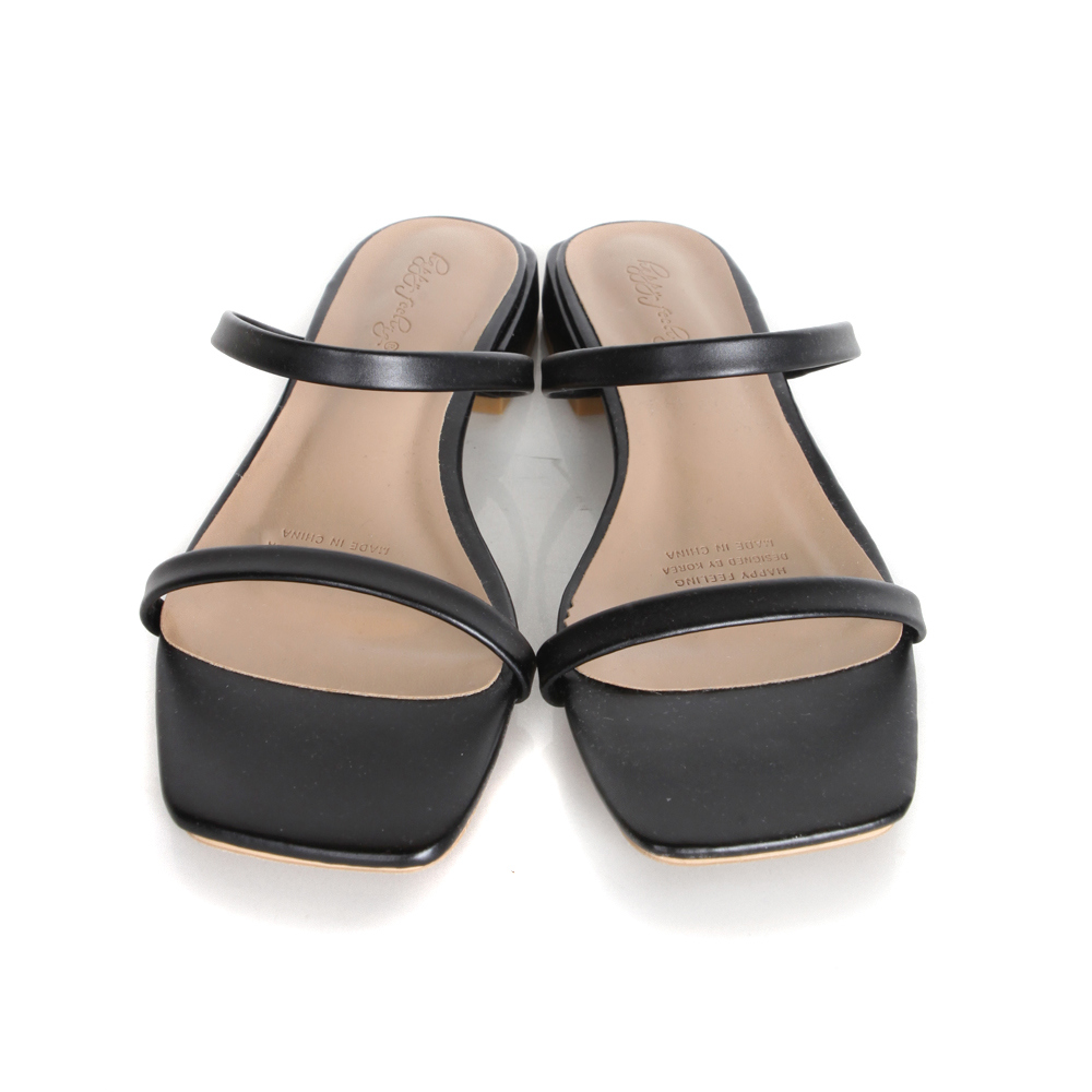 Baby double line sandals