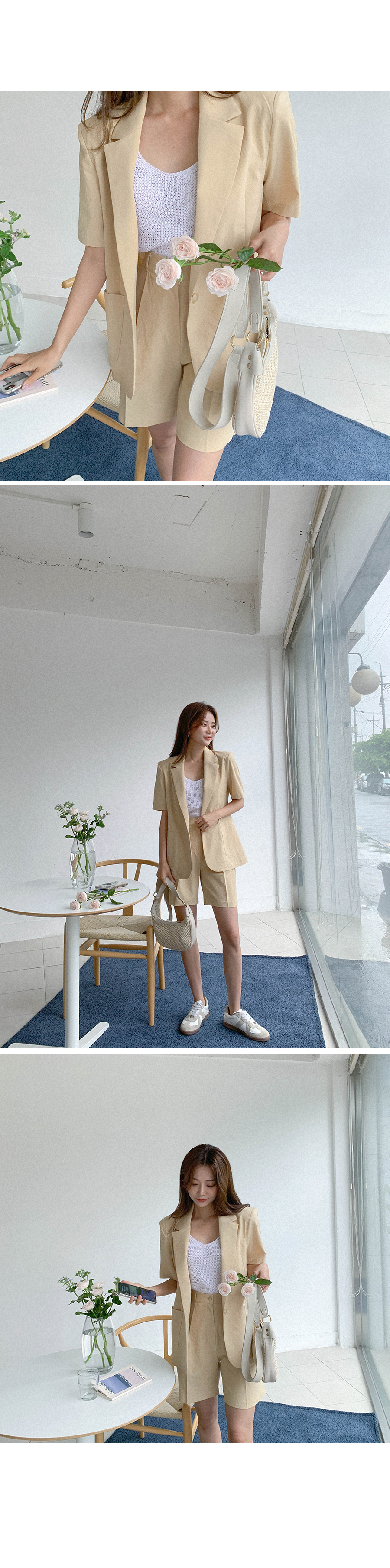 Single button jacket to fall in love with at a glance
