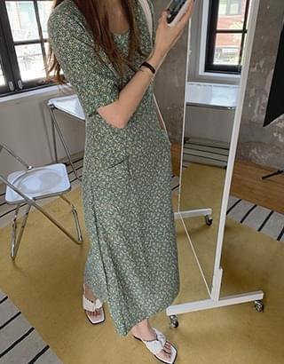 tahiti flower Dress