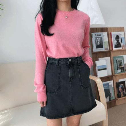 韓國空運 - Pitch Round Knitwear 針織衫
